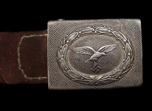 Question on Luftwaffe belts