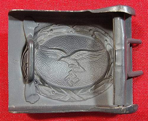 Help with steel Luft buckle