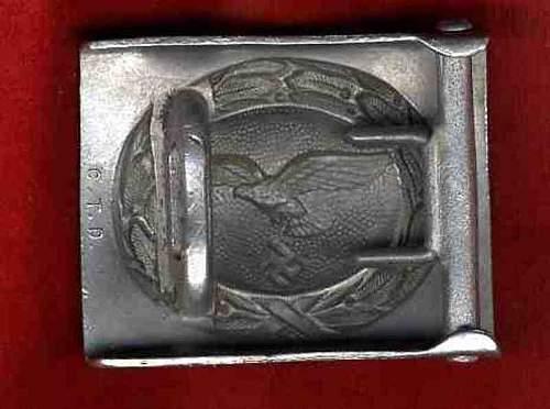 Luftwaffe CTD belt buckle original?