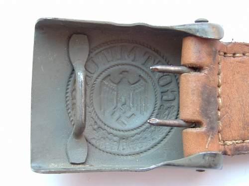 Luftwaffe Buckle is it a good original?.