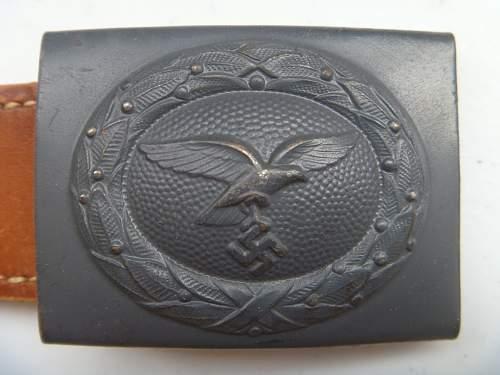 Dransfeld & Co Luftwaffe buckle