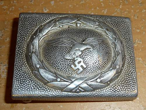 Luftwaffe Belt Buckle original or fake