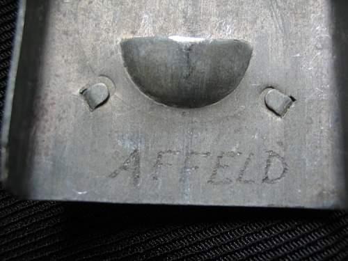 Luftwaffe parade buckle