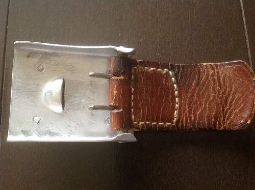 """""""Late"""" Droop Tail Buckle (1940)"""