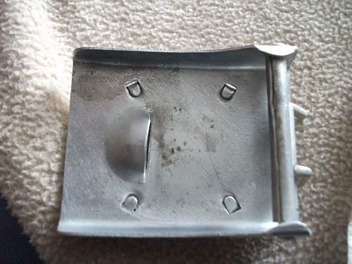 luftwaffe buckle superb condition - original example?.