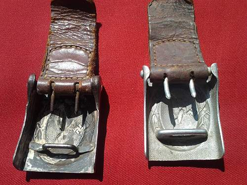 LW buckles picked