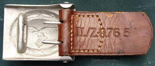 Luft buckle R.S.S.