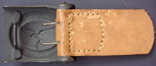 Luftwaffe buckles