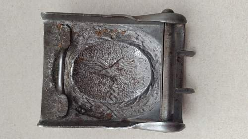 Luftwaffe buckle opinions  needed