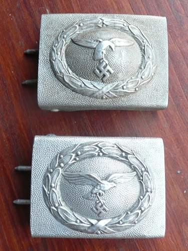 Two LW buckles original??