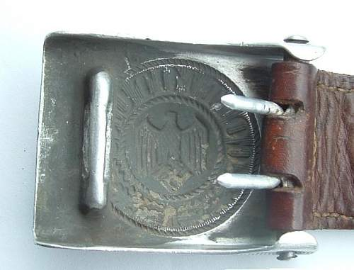 Droop Tail Buckle - Is it authentic?