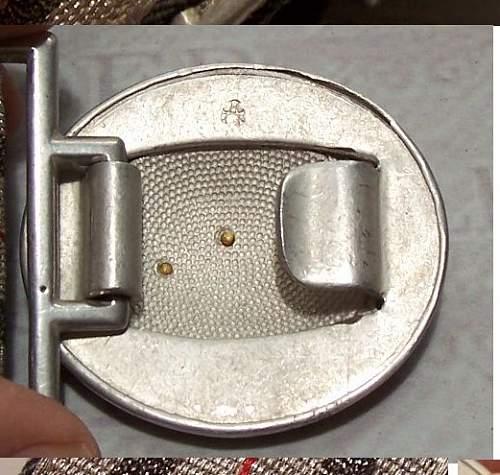 Luft officers and Customs Officer belt buckles,,,good or bad