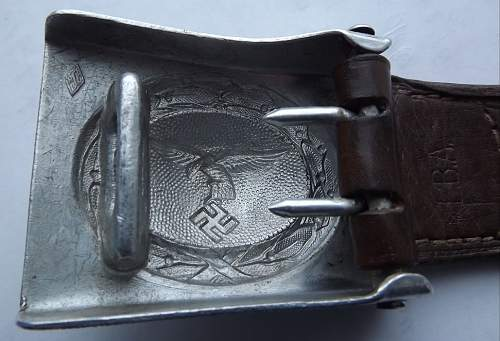 Two buckle