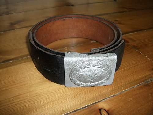 Luftwaffe Parade belt and buckle