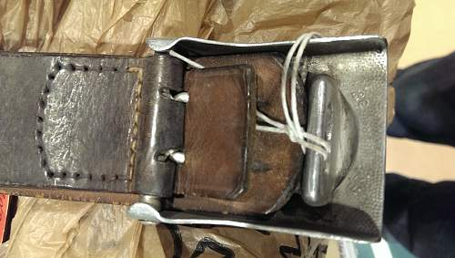 F.R. 38 Luft Buckle and Belt