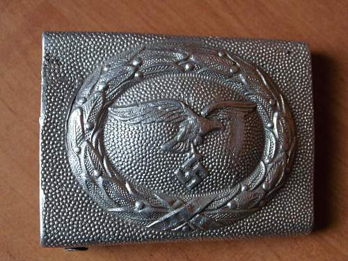 Luftwaffe allu belt buckle
