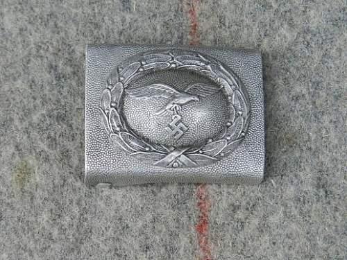 Luftwaffe Buckle Aliminium