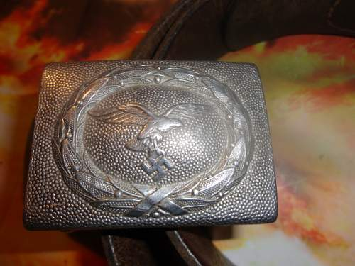 1938 Luft Belt and Buckle