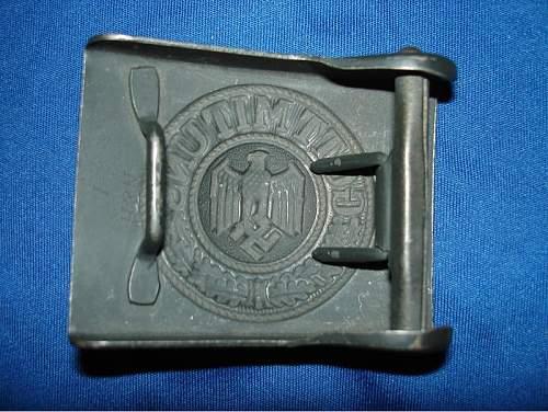 Luftwaffe Buckle & Belt