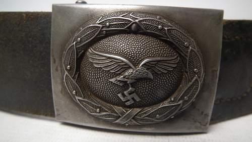 Luftwaffe belt and buckle - Original?