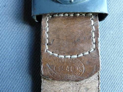 Luftwaffe belt and buckle set (R.S & S)