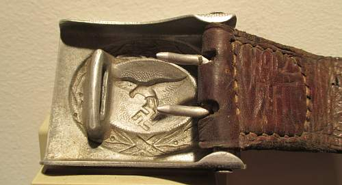 Early 1936 Luft with tab markings