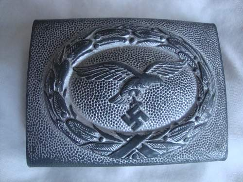 My first LW buckle