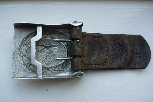 Unmarked Luftwaffe Droop Tail Crank Catch.