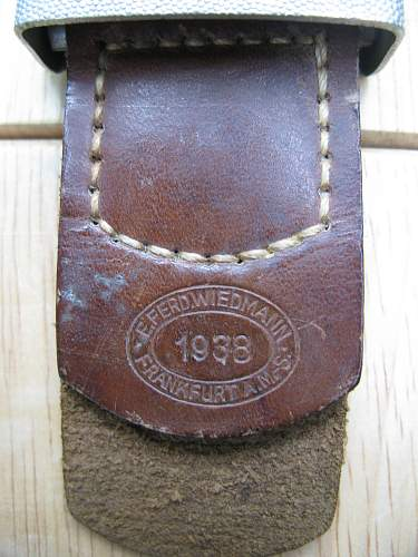 Minty 1939 drop tail eagle buckle and tab, is it worth it?