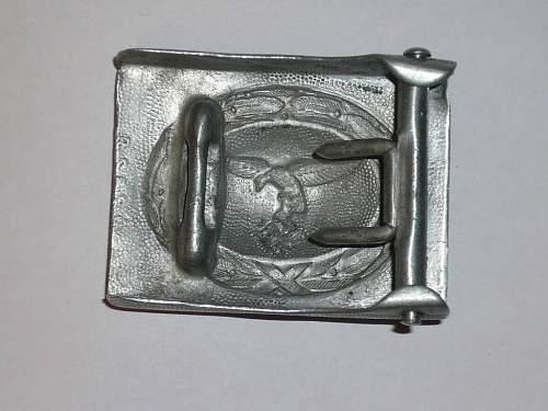 Luft Belt Buckle R S & S .... original?