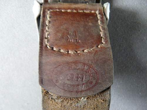 New luft belt and buckle.