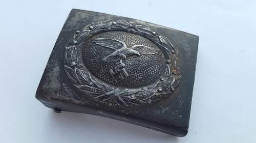 Luftwaffe belt and buckle - Fake or Original?