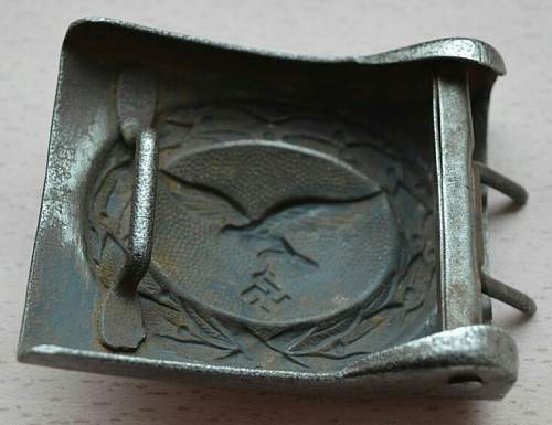 Luftwaffe B&N41 buckle - ask for help