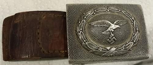 Paulmann Crone (?) buckle and belt