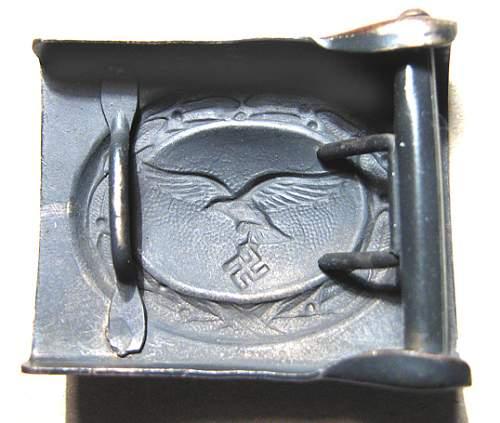 luftwaffe buckle need help