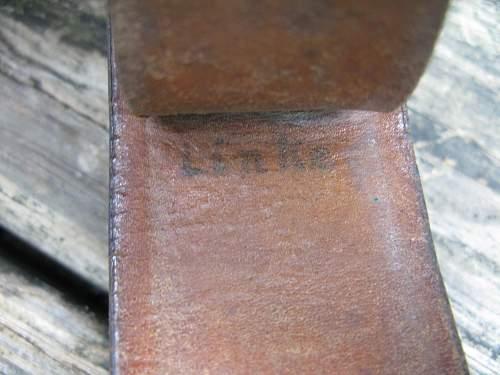 1940 Hugo Lang w/Belt
