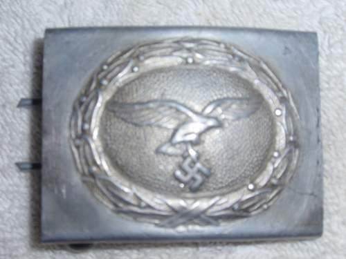 Click image for larger version.  Name:Luftwaffe Aluminium Belt Buckle_1.jpg Views:12 Size:104.7 KB ID:973148