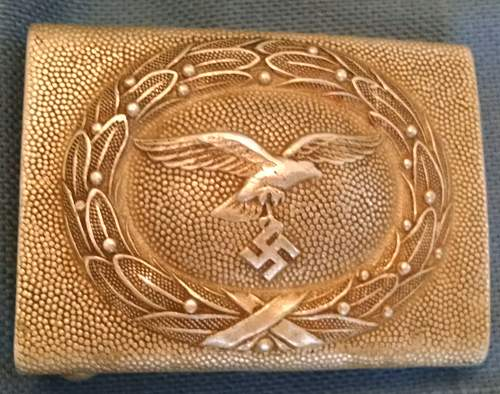 Found another belt buckle & need information