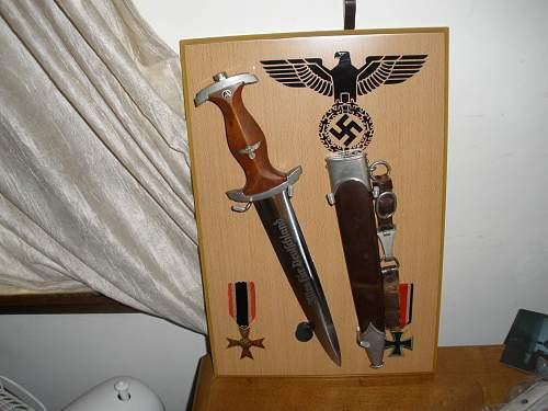 New dagger display