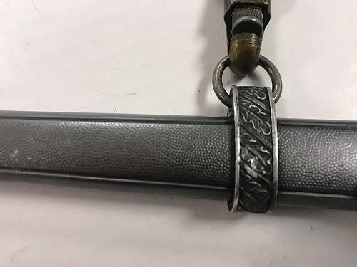 Opinions on Etched Luftwaffe Dagger Please