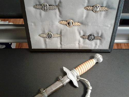Luftwaffe 2nd pattern dagger by SMF.