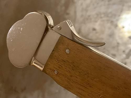 Luftwaffe Gravity Knife - SMF