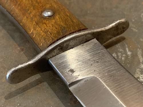 Luftwaffe Fighting / Boot Knife