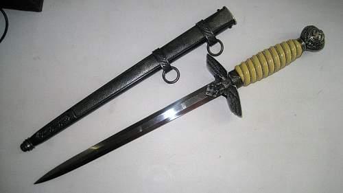 Luftwaffe dagger 2 models