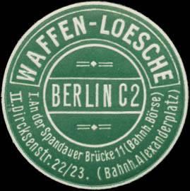 Luftwaffe forestry knife Waffen-Loesche Ch. A. W.