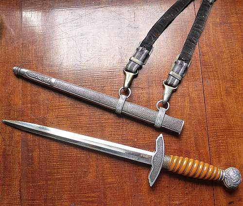 I have had different opinions about this L.W. Dagger.