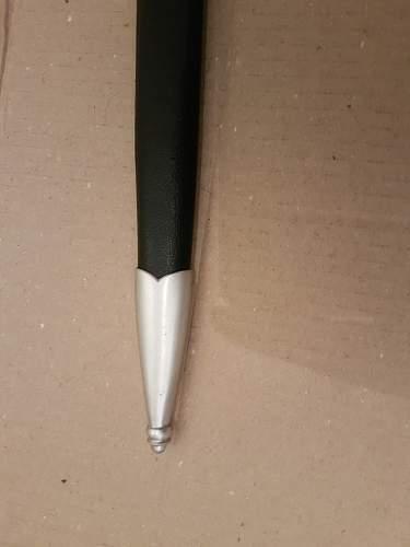 Luftwaffe Dagger 1.Pattern Eickhorn Aluminium