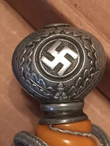 luftwaffe dagger authentic or fake? plz help