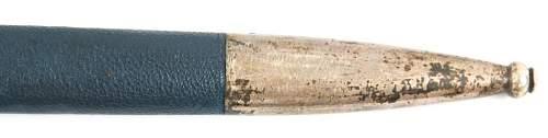 Nickel Silver (?) SMF Luftwaffe Sword Opinions