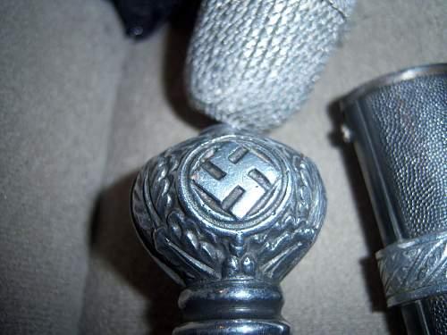 My first Luftwaffe Dagger (2nd Model)